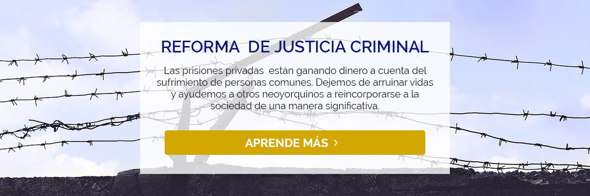 Reforma De Justicia Criminal