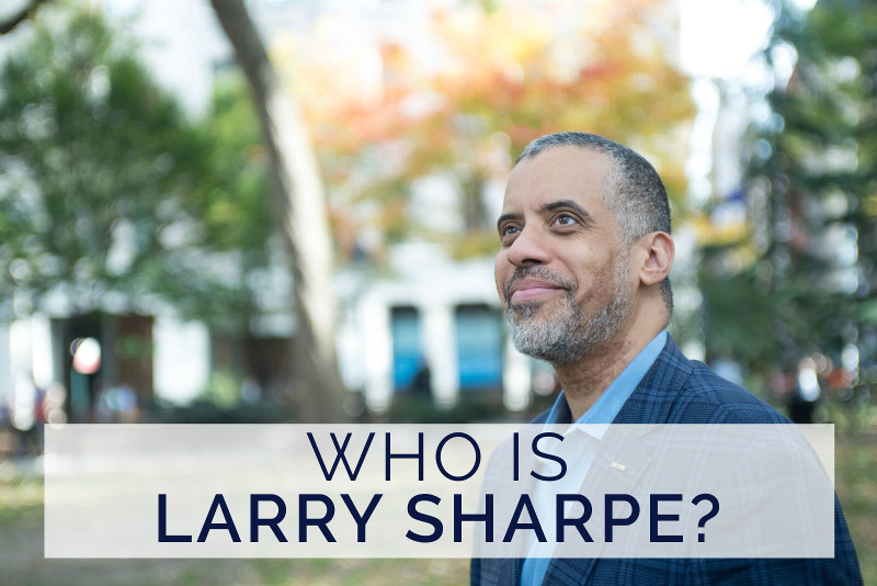 Who is Larry Sharpe?
