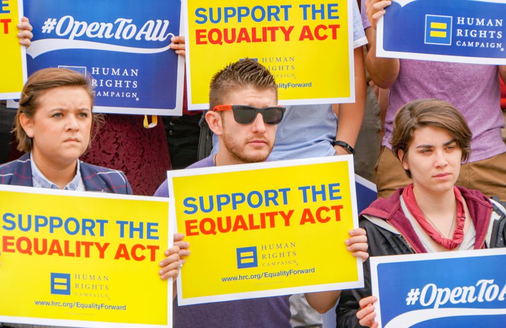 U.S. House of Representatives passes the Equality Act