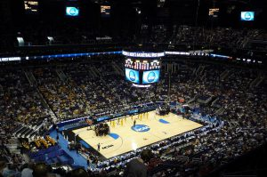 NCAA basketball tournament at the US Airways Center